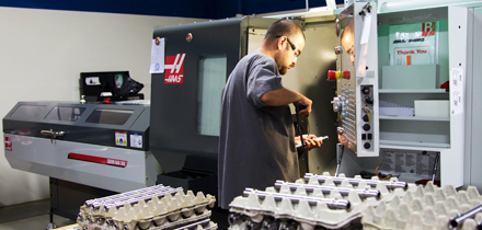 Intra Aerospace Capabilities: Lathes with Live Tooling